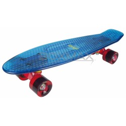 Area penny board прозрачно син